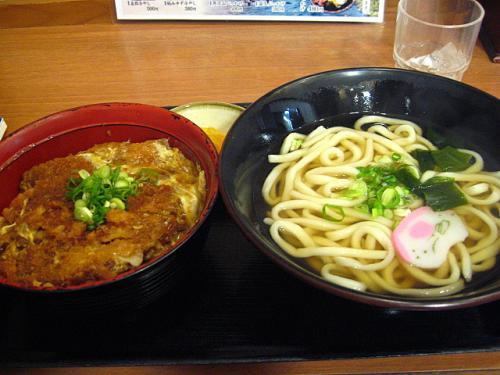 さぬき一番南国店 カツ丼セット