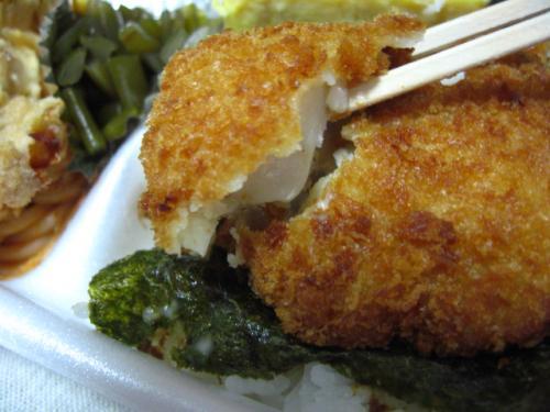 くいしんぼ如月 のり弁アラカルト(チキンナンバン) 魚フライアップ