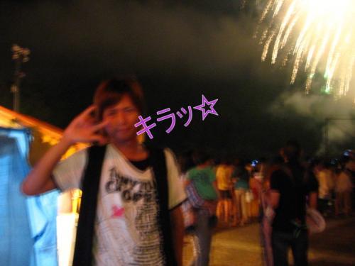 奥物部湖湖水祭2011 キラッ☆ってやろうとする竜一さん