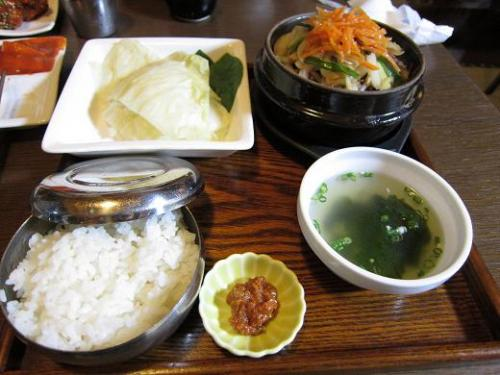 景福宮 プルコギ定食