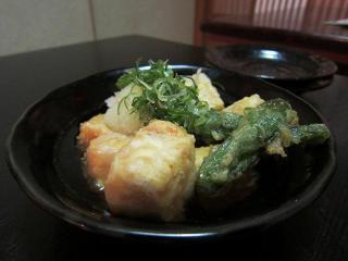 晶栄寿司 揚げ出し豆腐