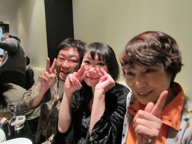 水曜会inシェルター 池さんとマキさんと後藤さん!