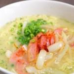イオン限定の即席麺「サッポロ一番 ミルク仕立ての塩ラーメン」