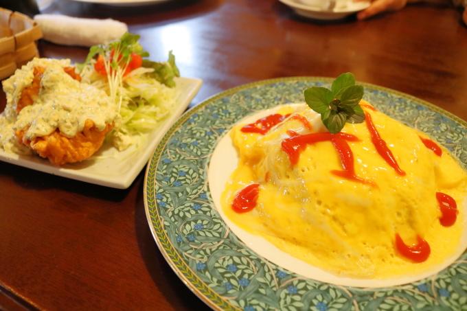 カフェ「珈風帆」(かふうほ)高知市西塚ノ原で洋食ランチ