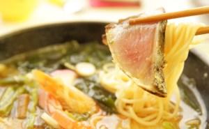 桂浜のレストラン「まつむら」ランチ(龍馬ラーメン)