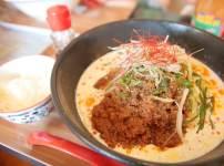 高知一宮のラーメン屋さん 八丁目どり 冷やし豆乳担々麺