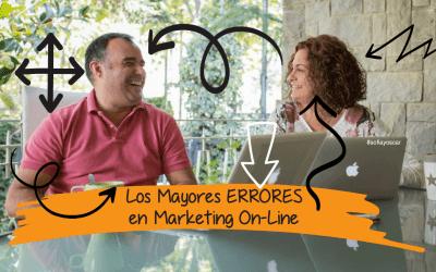 Los Mayores Errores del Marketing OnLine
