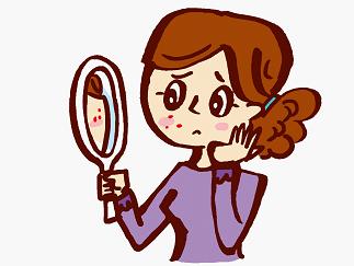 肌荒れの原因は食べ物・性病・内臓?対策は?