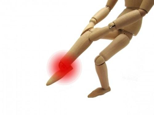 足の甲の捻挫のテーピングの仕方やサポーターや湿布など処置法