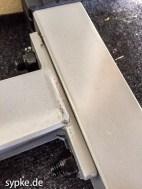 Power Rack Body-Solid Powerline PPR200X - hier macht sich der Preis bemerkbar: nicht die schönsten Schweißnähte