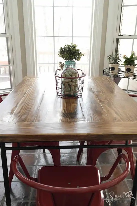 farmhouse kitchen table and chairs redesign my ikea industrial meets hack - sypsie designs