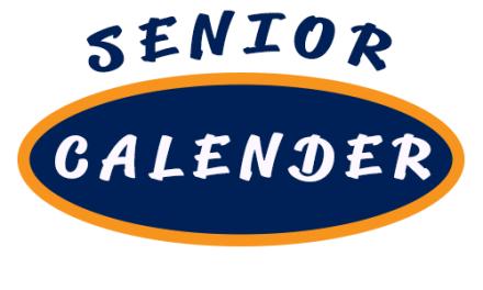 Senior Calendar