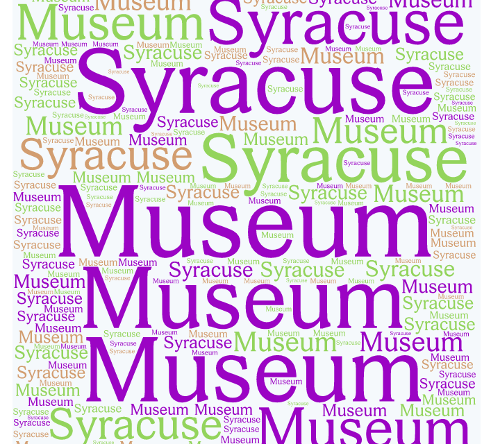 New Exhibit at the  Syracuse Museum