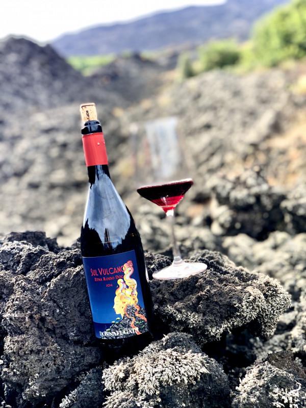 Sul Vulcano Etna Rosso Donnafugata