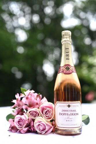 Best Sparkling Rosé - Dopff & Irion Brut Cremant D'Alsace Rosé
