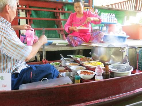 Boat Noodle :-D @ Floating Market