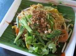 Pad Thai at Floating Market (100 bahts per dish)
