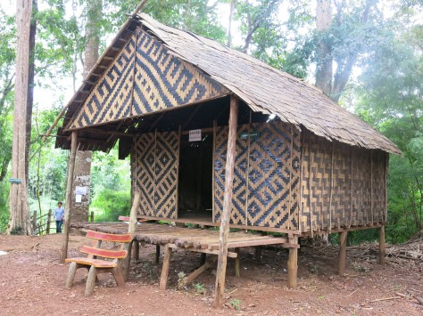 Normal House of Kreung ethnic group
