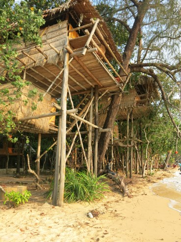 TreeHouse bungalows in the morning