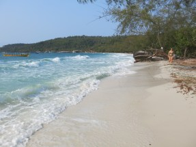 Freshness in the morning at Koh Toch beach, Koh Rong