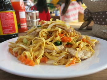 Fried noodle, Koh Rong