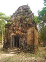 A temple in Sambor complex
