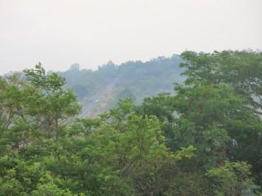 Thai hill-road