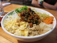 Bibimbab (mixed rice)