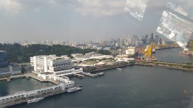 View from cable car