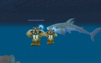 Moonkin and Whale Shark
