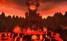 The Firelands in Hyjal