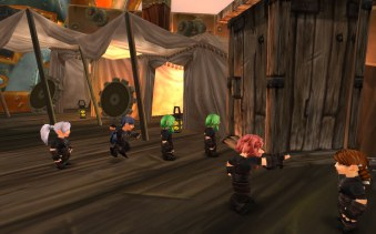 Gnome WC queue Speedbarage Thousand Needles