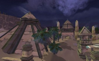 Uldum at night