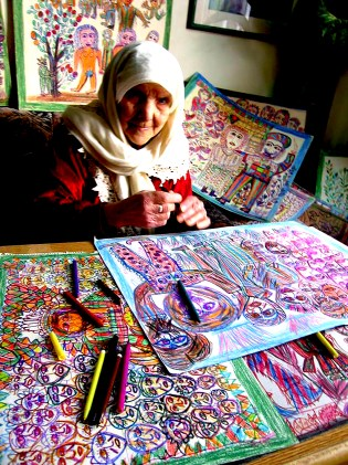 Aicha Ajam Mouhanna, a special artist from Syria
