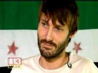 US Citizen terrorist in Libya Mathew VanDyke shows up in Aleppo