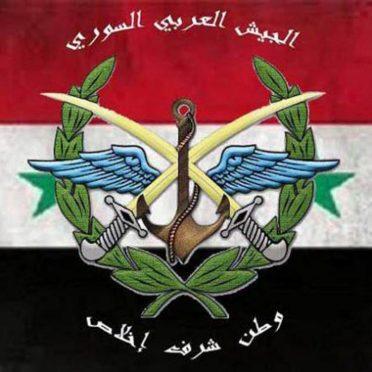 Syrian Arab Army Badge