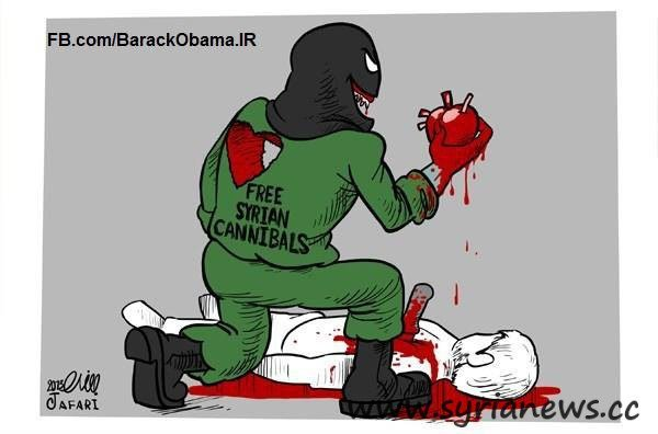 Free Syrian Cannibal