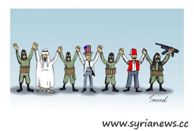 NATO & Stooges: The group of evil against Syria