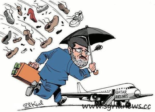 Morsi out, might need a different airliner company though.