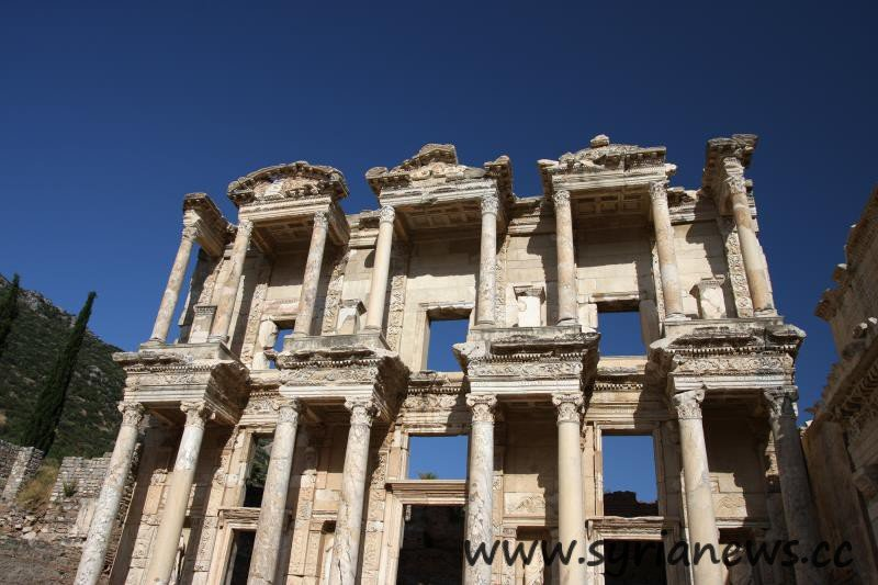 Library of Celsus, Ephesus, Turkey.