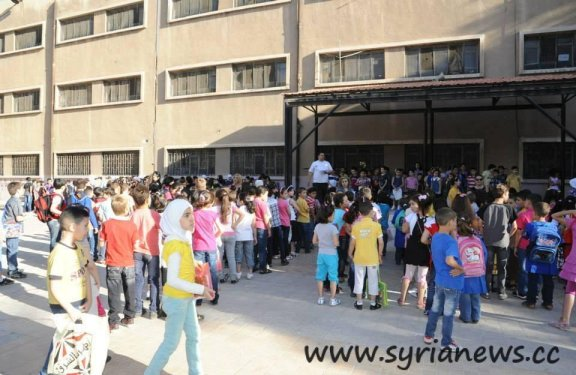 4.5 million Syrian students back to schools