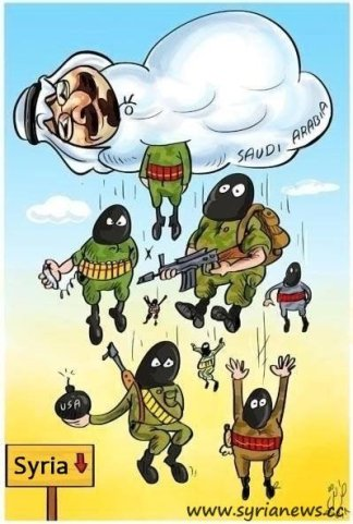 Terrorists Sent to Liberate Syria from its People