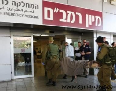 Al Qaeda in Syria get taken to Rambam for free medical care.