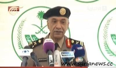 المتحدث باسم وزارة الداخلية منصور التركي A spokesman for the Ministry of Interior of Saudi Arbia Mansour al-Turki