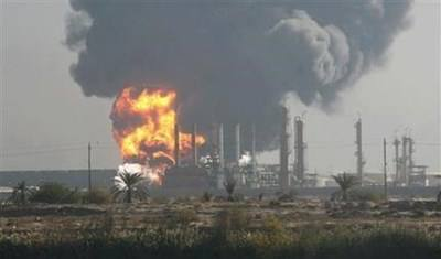 image- Syrian oil infrastructure destroyed