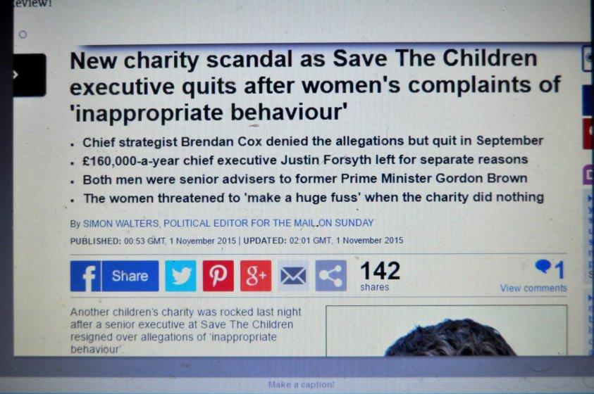 B. Cox sex allegations