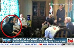 Meeting with terrorists in Syria