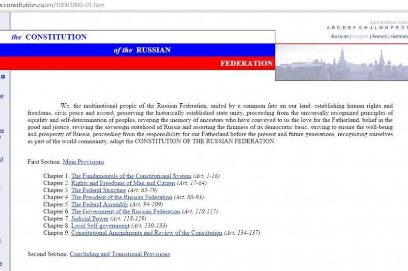 Russia constitution