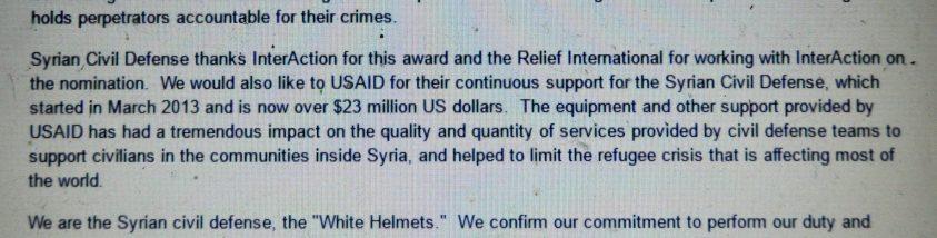 Saleh, CIA funding