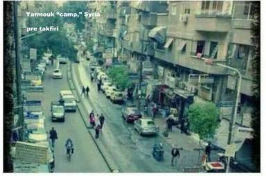 Yarmouk 'camp,' before the crisis, was a neighborhood.